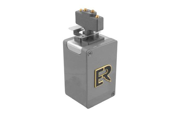Electro-Rail - Plug In Jack With Box 4 Pole 15 AMP​ #ERS351M