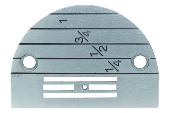 Needle Plate /Throat Plate for Most Single Needle Industrial Sewing Machines