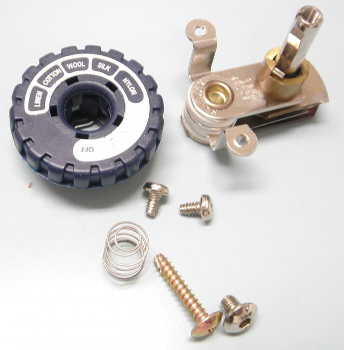 Gravity Iron Thermostat Assembly