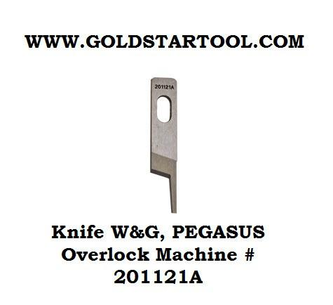PEGASUS Over Lock Upper Knife 201121A