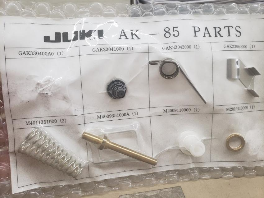 Spare Parts Kit JUKI AK-85 Without Auto Lifter