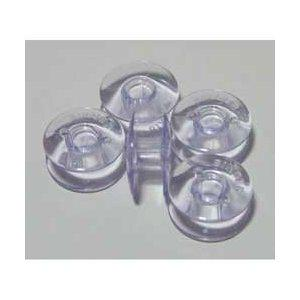 10 Pack Class 66 Clear Plastic Bobbins For Singer