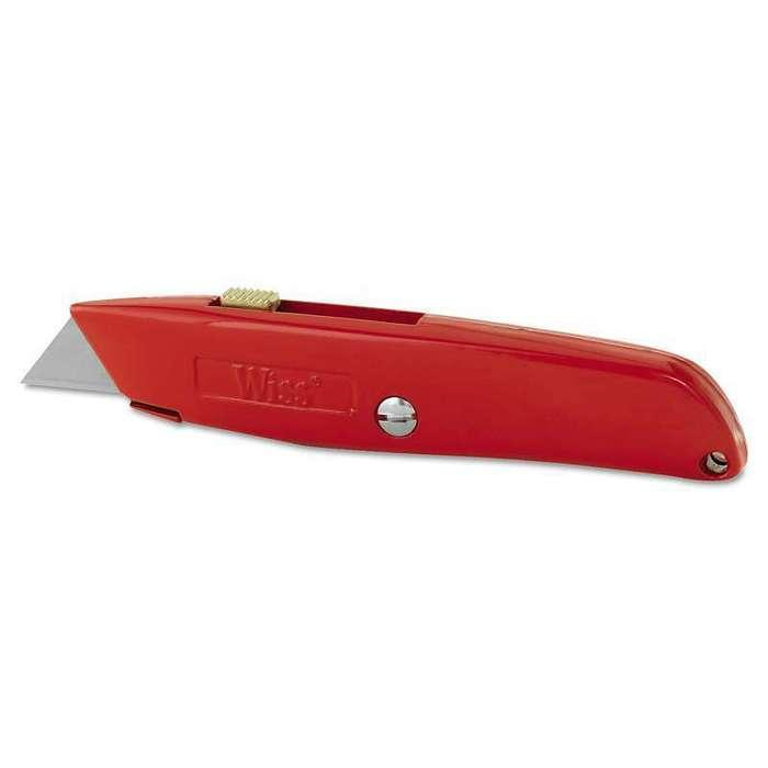 Carded Retractable Utility Knife - Wiss #WK8V