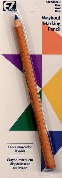 Blue Fabric Marking Pencil, Extra Thick, Great for Quilting