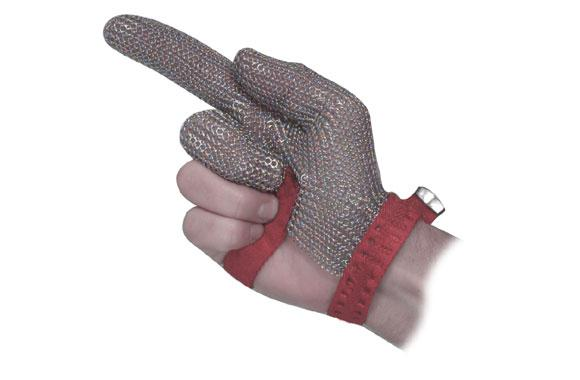 Stainless Steel Mesh Safety Glove 3 Finger
