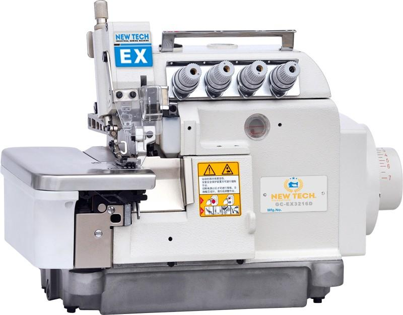 New-Tech EX-3216D 5 Thread Direct Drive Overlock Industrial Sewing Machine