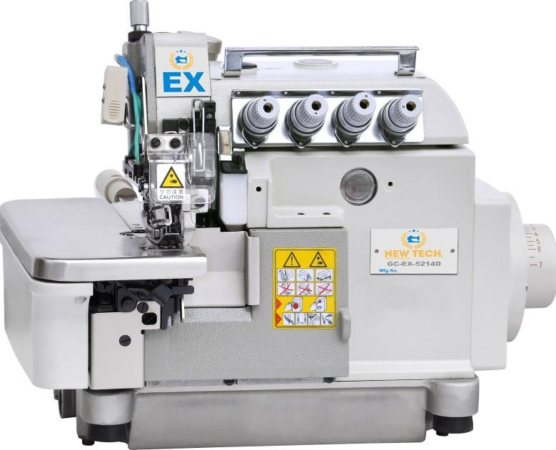 New-Tech EX-5214-AT 4 Thread Direct Drive Overlock Industrial Sewing Machine