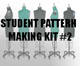 Student Pattern-Making Kit #2 (intermediate)