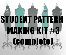 Student Pattern-Making Kit #3 (complete)