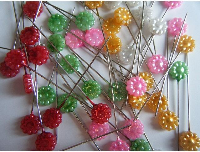 Flower Head Pins (pack of 50)