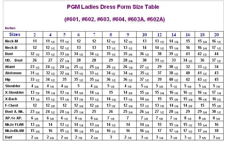 Ladies Dress Form with Flat Hip (Professional, 602)