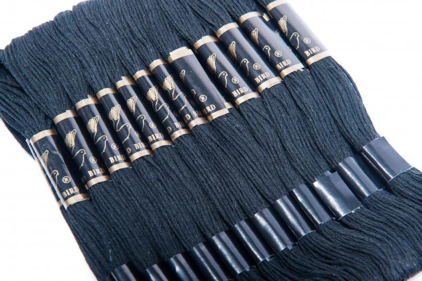 Embroidery Floss - Assorted, Black or white  Colors (36 skeins)