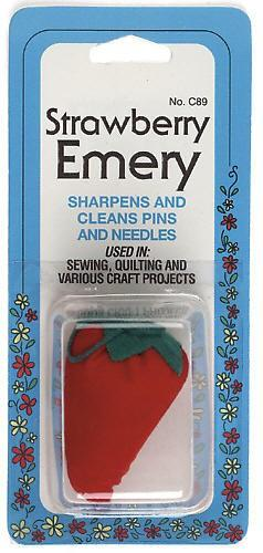 Strawberry Emery for Sharpening/Cleaning Pins & Needles