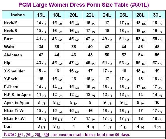 Women Plus Size Dress Form with Hip (Industry Pro 601L)