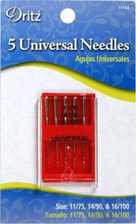 Universal Sewing Machine Needles by Dritz (5/pack)