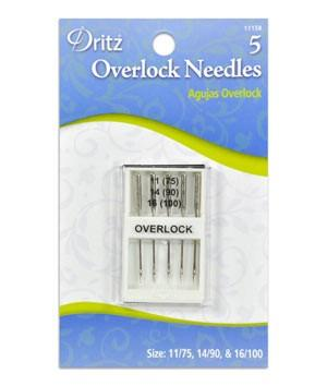 Dritz Needles Overlock Sewing Machine (5 pack)