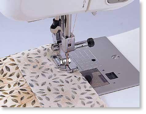 Quilting Foot, (without guide) 1/4