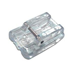 Zipper Foot (Concealed/Invisible) Clear, Snap-on