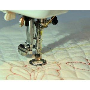 Free Motion Spring Foot, Snap-on, for Zig Zag, Darning, Quilting