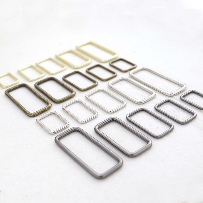 Welded Metal Ring - Square Ring