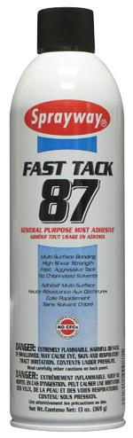 Sprayway SW087 - Fast Tack General Purpose Mist Adhesive