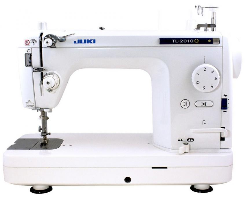 JUKI TL-2010Q 1 Needle Lockstitch Mid-Arm Portable Quilting and Piecing Machine with Automatic Thread Trimmer and Speed Control