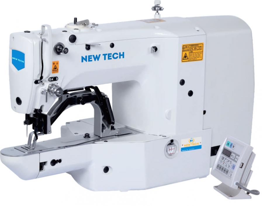 New-Tech GC-1900A Computer Controlled Highspeed Bartacking Industrial Machine With Servo Motor and Table