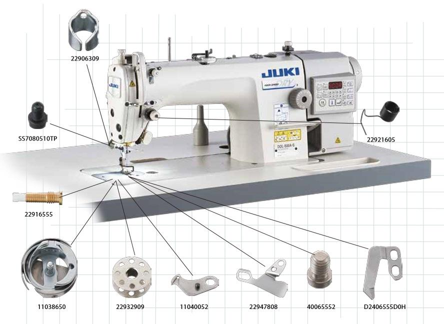 Spare Parts Kit - JUKI DDL-8700-7 / DDL-900A | GoldStar Tool