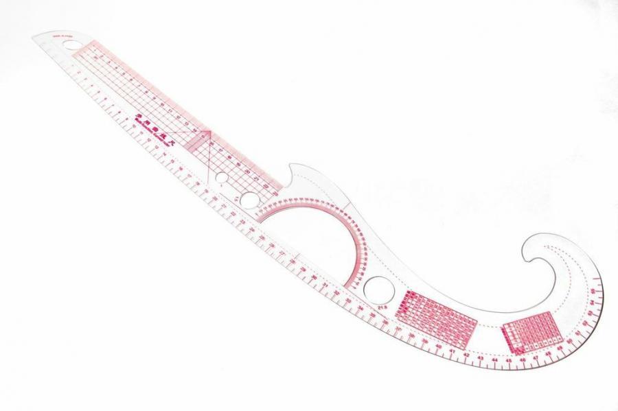 Multi Function Curved Ruler Metric Goldstar Tool